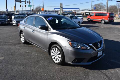 2017 Nissan Sentra for sale at World Class Motors in Rockford IL