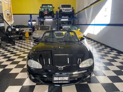 2003 Mazda MX-5 Miata for sale at Euro Auto Sport in Chantilly VA