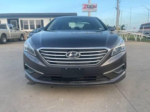 2016 Hyundai Sonata for sale at Zoom Auto Sales in Oklahoma City OK