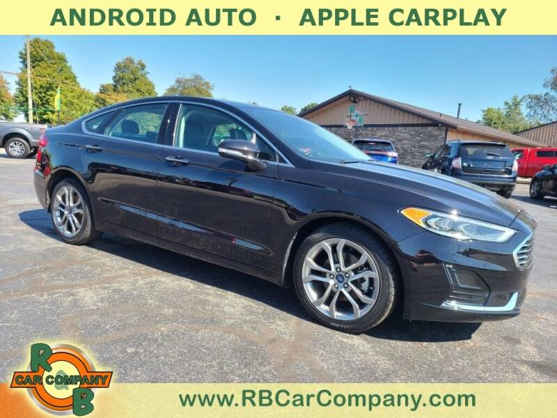 2019 Ford Fusion for sale at R & B CAR CO - R&B CAR COMPANY in Columbia City IN