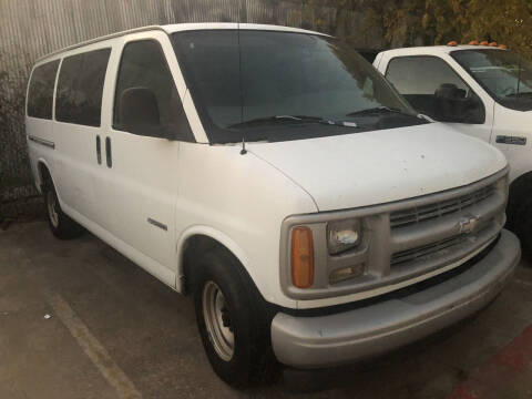 1999 Chevrolet Express Passenger for sale at Auto Access in Irving TX
