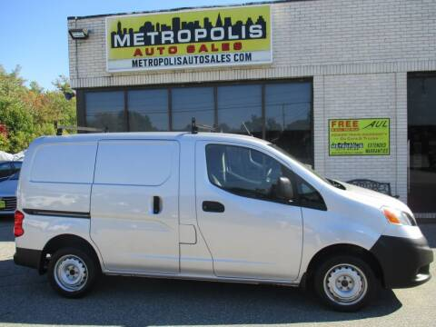 2017 Nissan NV200 for sale at Metropolis Auto Sales in Pelham NH