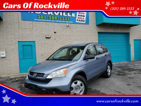 2007 Honda CR-V for sale at Cars Of Rockville in Rockville MD