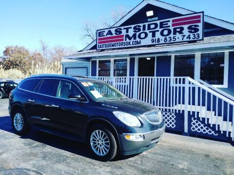 2011 Buick Enclave for sale at EASTSIDE MOTORS in Tulsa OK