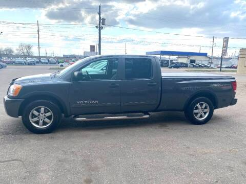 2008 Nissan Titan for sale at Iowa Auto Sales, Inc in Sioux City IA