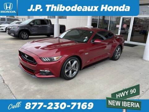 2016 Ford Mustang for sale at J P Thibodeaux Used Cars in New Iberia LA