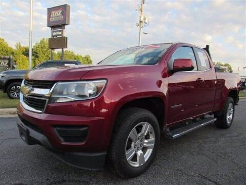 2017 Chevrolet Colorado for sale at J T Auto Group in Sanford NC