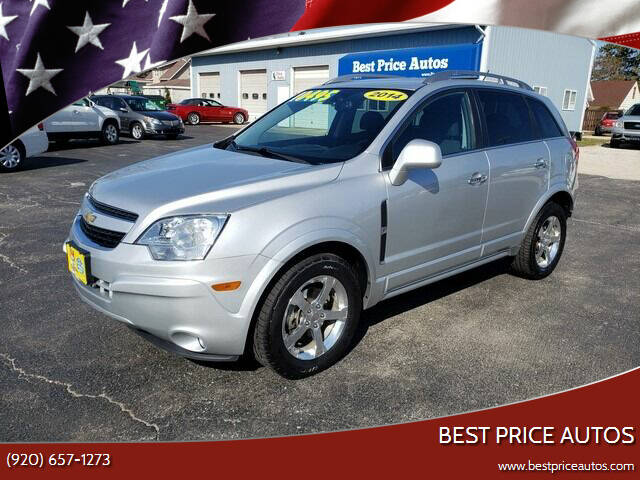 2014 Chevrolet Captiva Sport for sale at Best Price Autos in Two Rivers WI