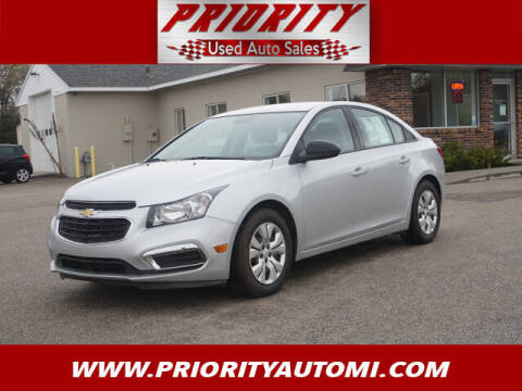 2016 Chevrolet Cruze Limited for sale at Priority Auto Sales in Muskegon MI