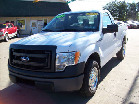 2014 Ford F-150 for sale at Summit Auto Inc in Waterford PA