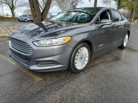 2016 Ford Fusion Hybrid for sale at Matador Motors in Sacramento CA