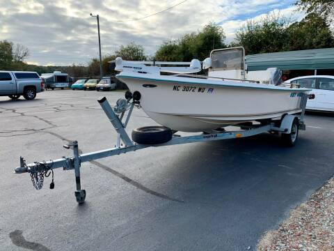1998 Key West 1720 Center Console for sale at Vanns Auto Sales in Goldsboro NC