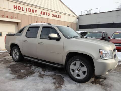 2007 Chevrolet Avalanche for sale at Holiday Auto Sales in Grand Rapids MI