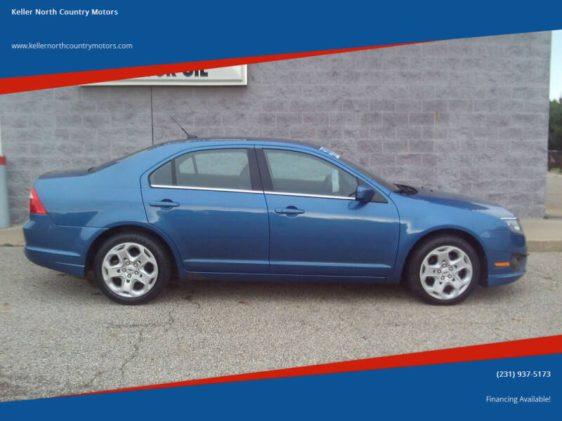 2010 Ford Fusion for sale at Keller North Country Motors in Howard City MI