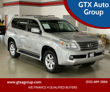 2013 Lexus GX 460 for sale at GTX Auto Group in West Chester OH