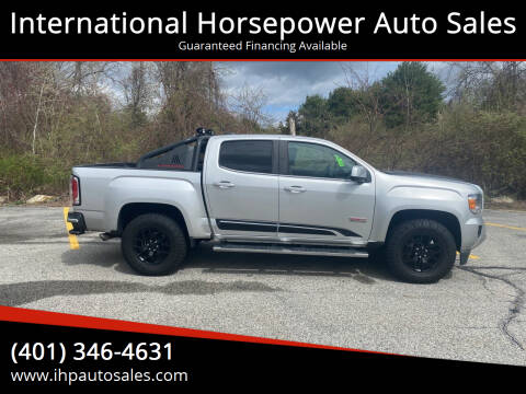 2015 GMC Canyon for sale at International Horsepower Auto Sales in Warwick RI