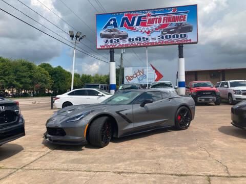2016 Chevrolet Corvette for sale at ANF AUTO FINANCE in Houston TX