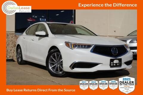 2019 Acura TLX for sale at Dallas Auto Finance in Dallas TX
