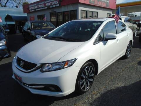 2015 Honda Civic for sale at International Motors in Laurel MD
