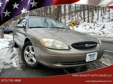 2002 Ford Taurus for sale at High Quality Auto Sales LLC in Bloomingdale NJ