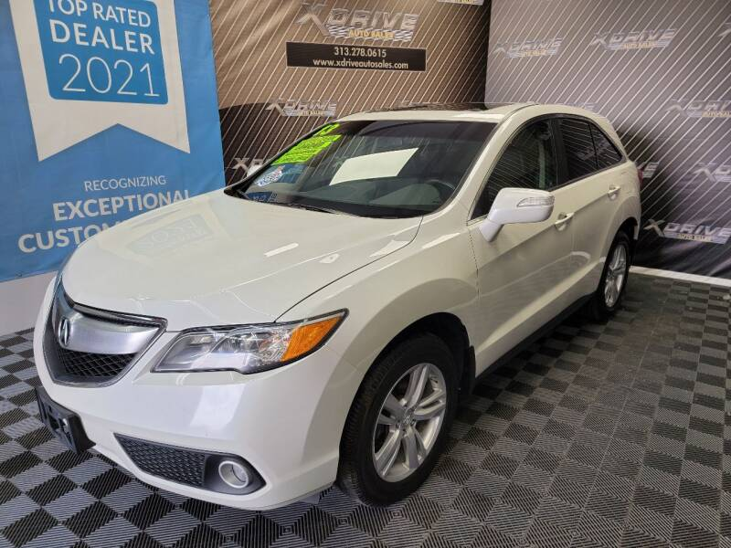 2013 Acura RDX for sale at X Drive Auto Sales Inc. in Dearborn Heights MI