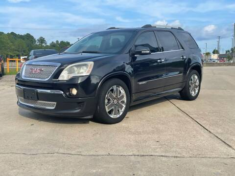 2011 GMC Acadia for sale at WHOLESALE AUTO GROUP in Mobile AL