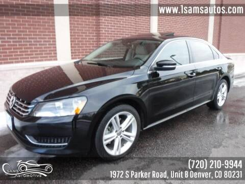 2014 Volkswagen Passat for sale at SAM'S AUTOMOTIVE in Denver CO
