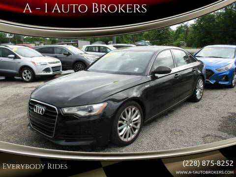2012 Audi A6 for sale at A - 1 Auto Brokers in Ocean Springs MS