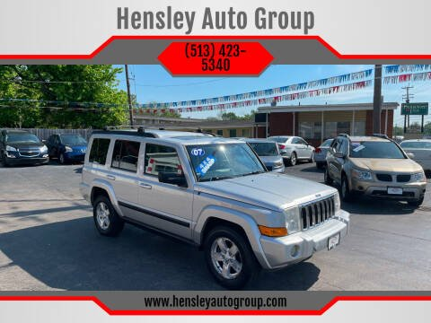 2007 Jeep Commander for sale at Hensley Auto Group in Middletown OH