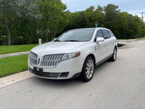 2012 Lincoln MKT for sale at L G AUTO SALES in Boynton Beach FL