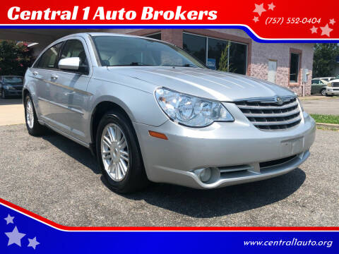 2008 Chrysler Sebring for sale at Central 1 Auto Brokers in Virginia Beach VA