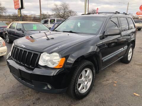 2008 Jeep Grand Cherokee for sale at RJ AUTO SALES in Detroit MI