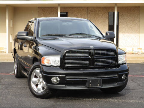 2003 Dodge Ram Pickup 1500 for sale at Ritz Auto Group in Dallas TX
