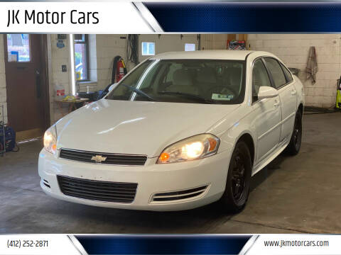 2011 Chevrolet Impala for sale at JK Motor Cars in Pittsburgh PA