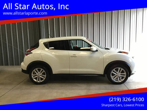 2015 Nissan JUKE for sale at All Star Autos, Inc in La Porte IN