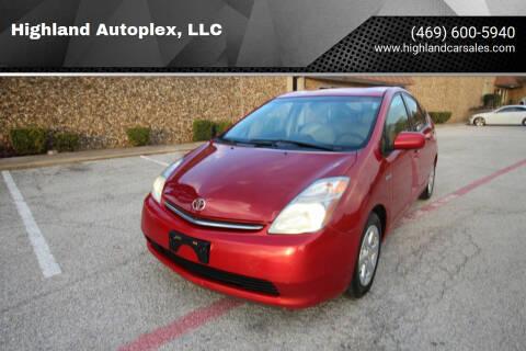 2008 Toyota Prius for sale at Highland Autoplex, LLC in Dallas TX