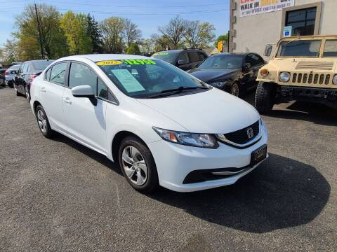 2015 Honda Civic for sale at Costas Auto Gallery in Rahway NJ