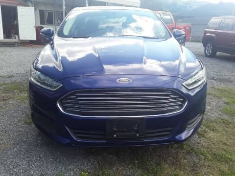 2013 Ford Fusion for sale at BSA Pre-Owned Autos LLC in Hinton WV