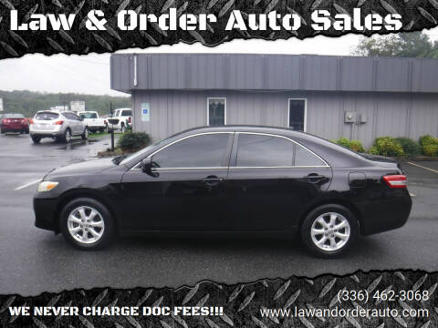 2011 Toyota Camry for sale at Law & Order Auto Sales in Pilot Mountain NC
