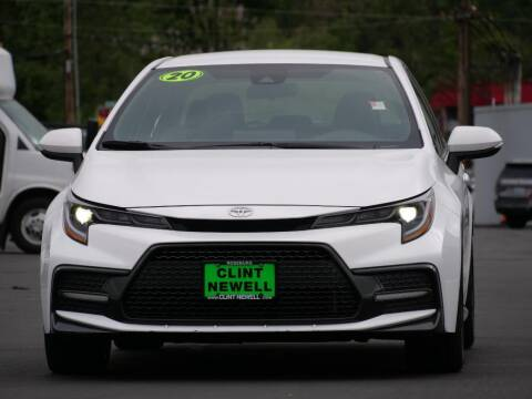 2020 Toyota Corolla for sale at CLINT NEWELL USED CARS in Roseburg OR