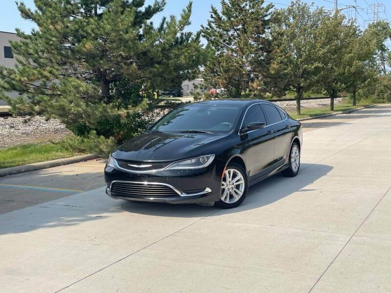 2015 Chrysler 200 for sale at A & R Auto Sale in Sterling Heights MI