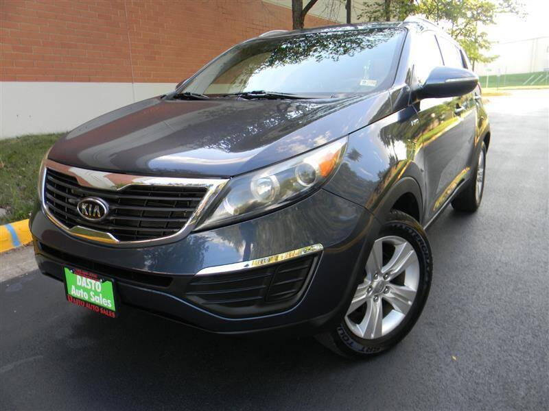 2011 Kia Sportage for sale at Dasto Auto Sales in Manassas VA
