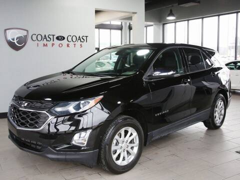 2019 Chevrolet Equinox for sale at Coast to Coast Imports in Fishers IN