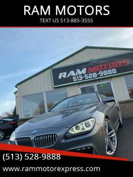 2012 BMW 6 Series for sale at RAM MOTORS in Cincinnati OH