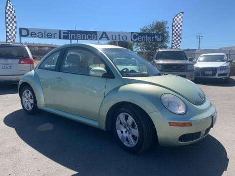 2007 Volkswagen New Beetle for sale at Dealer Finance Auto Center LLC in Sacramento CA