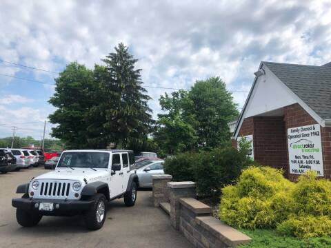 2011 Jeep Wrangler Unlimited for sale at Direct Sales & Leasing in Youngstown OH