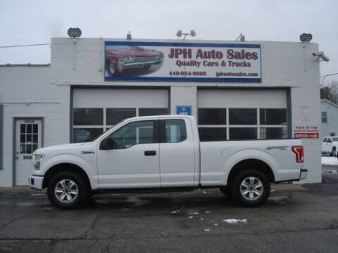 2015 Ford F-150 for sale at JPH Auto Sales in Eastlake OH