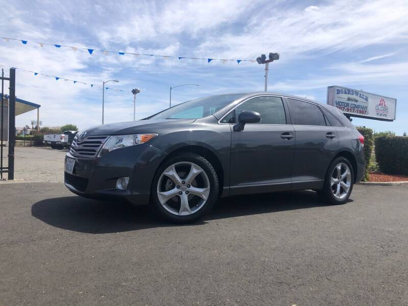 2010 Toyota Venza for sale at BOARDWALK MOTOR COMPANY in Fairfield CA