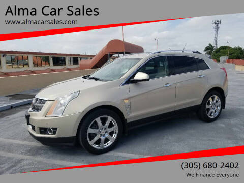 2011 Cadillac SRX for sale at Alma Car Sales in Miami FL