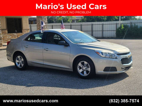 2016 Chevrolet Malibu Limited for sale at Mario's Used Cars - Pasadena Location in Pasadena TX